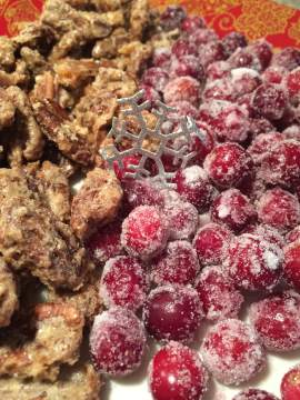Cranberries and Pecans 1