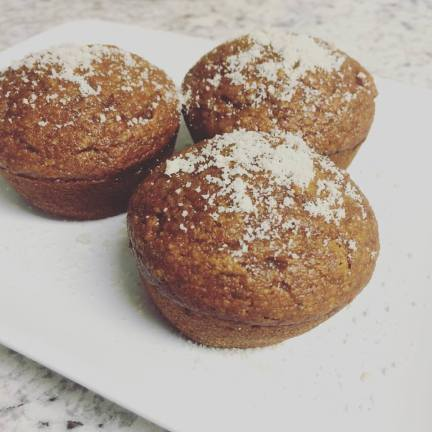 Pumpkin Pepper Muffins